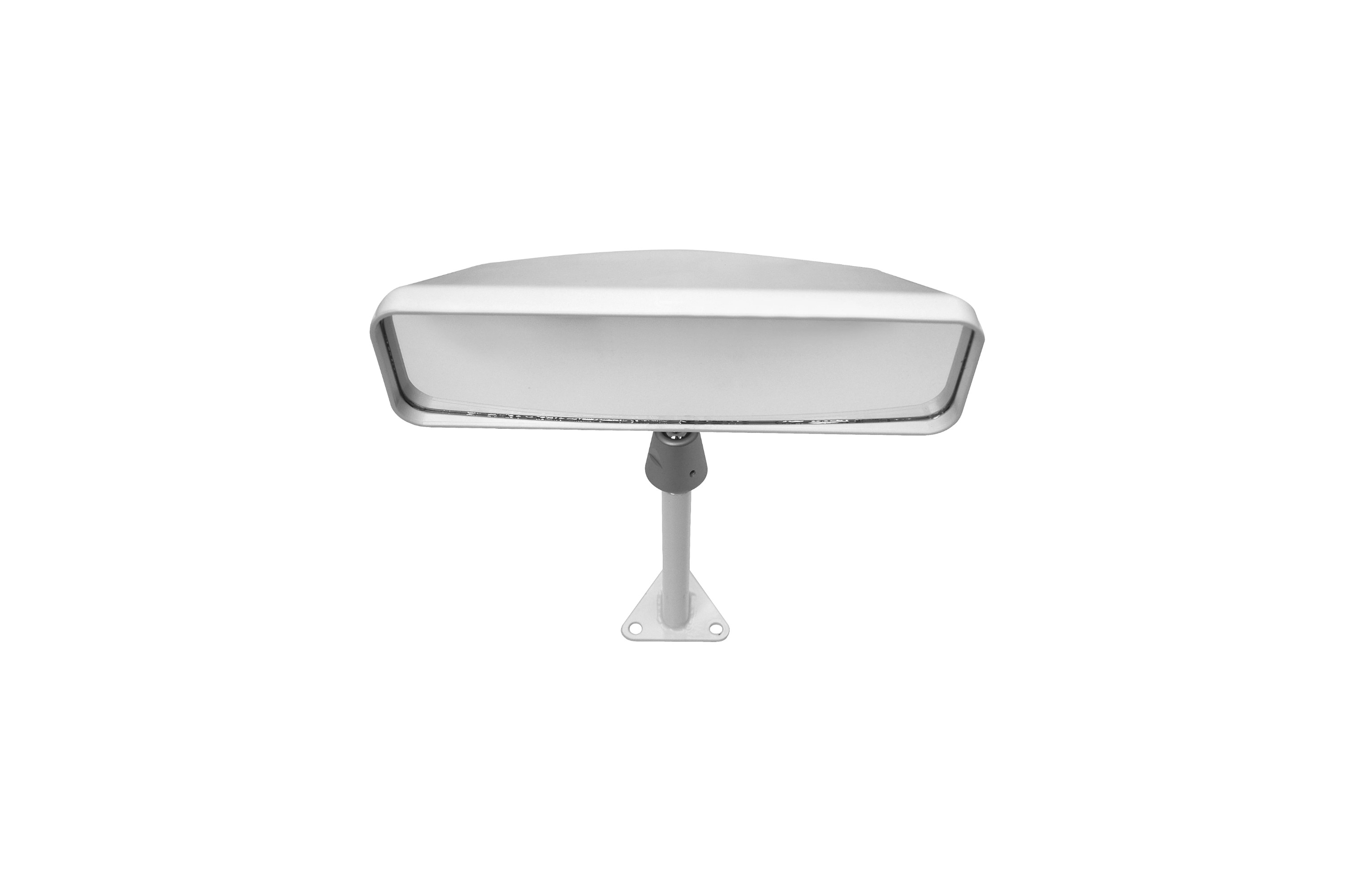 461-101-012 Centre white convex 100mm front-1