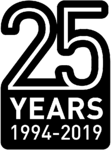 Lifeline 25th Anniversary logo 2 (Black)