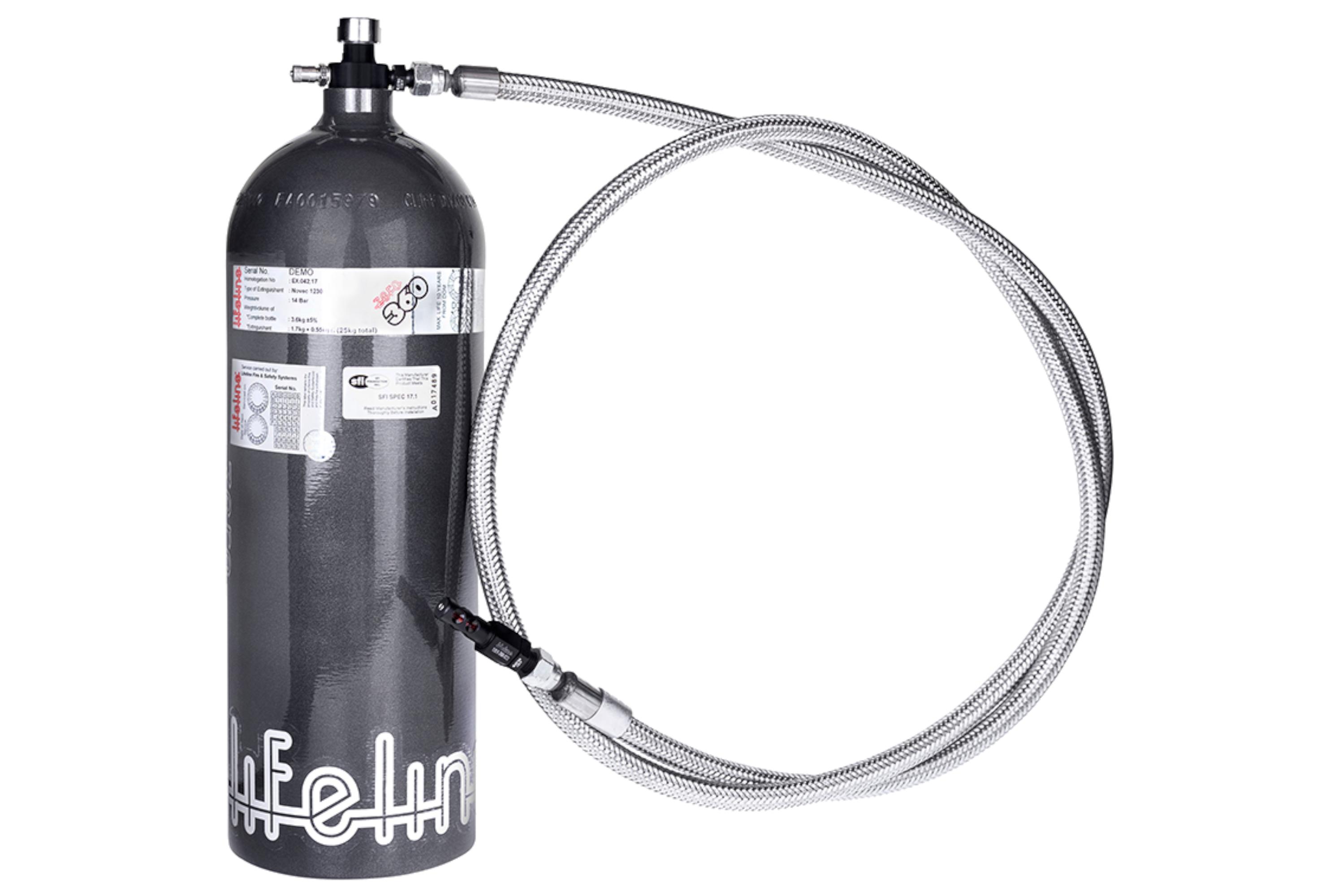 10lbs Automatic SFI Fire Bottle